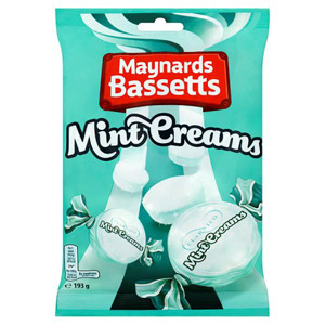 Bassetts Mint Creams 200g