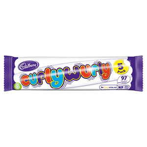 Cadburys Curly Wurly 4 Pack