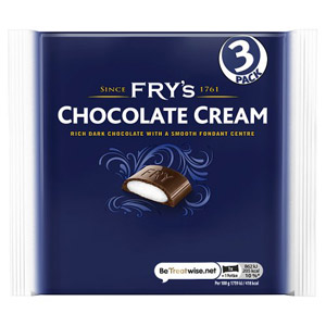 Frys Chocolate Cream 3 Pack