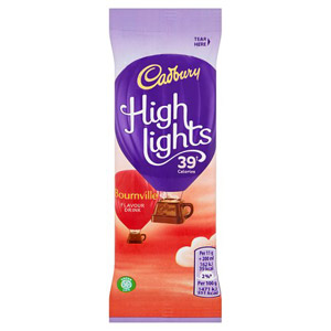 Cadburys Highlights Dark Chocolate Sachet