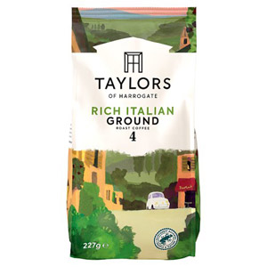 Taylors Rich Italian Ground Coffee