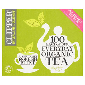 Clipper Organic EveryDay 100 Tea Bags