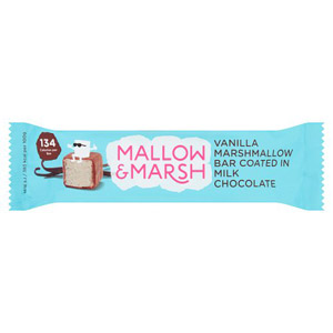 Mallow & Marsh Milk Chocolate Coated Vanilla Marshmallow Bar