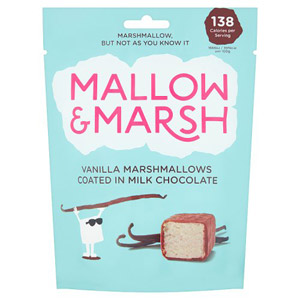 Mallow & Marsh Milk Chocolate Coated Vanilla Marshmallows