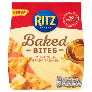 Ritz Olive Oil & Grana Padano Crackers