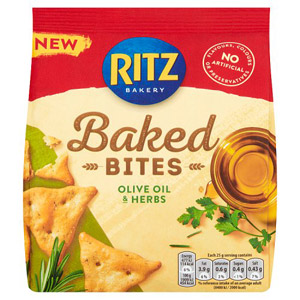 Ritz Olive Oil & Herbs Crackers
