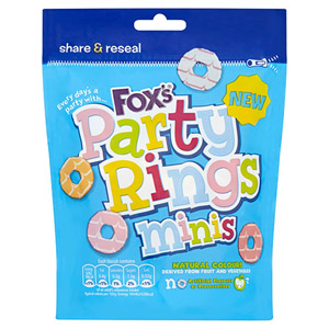 Foxs Mini Party Rings Pouch