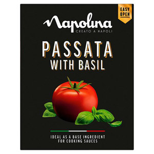 Napolina Passata with Basil