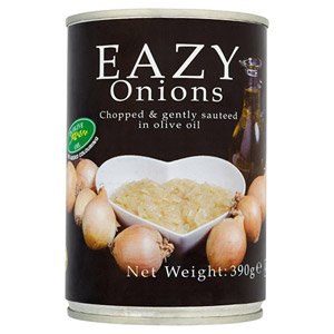 Eazy Onions in Olive Oil