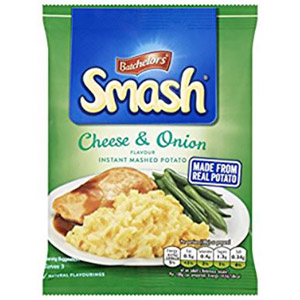 Smash Cheese & Onion Instant Mash