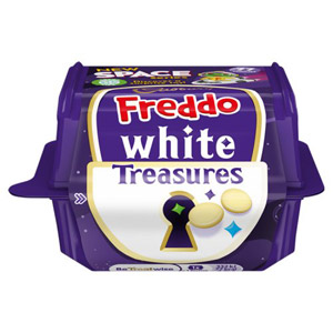 Cadbury Freddo White Chocolate Treasures with Toy