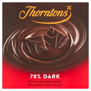Thorntons 70% Dark Chocolate Block