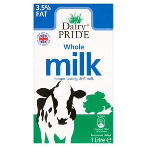 Dairy Pride UHT Whole Milk