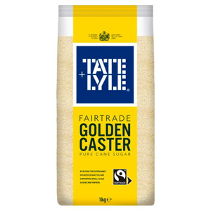 Tate & Lyle Golden Caster Pure Cane Sugar