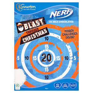 Kinnerton Nerf Advent Calendar