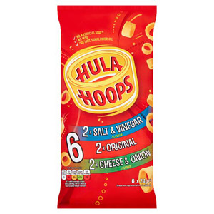 KP Hula Hoops Assorted 6 Pack