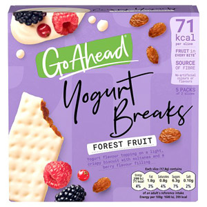 McVities Go Ahead Yogurt Breaks Forest Fruits