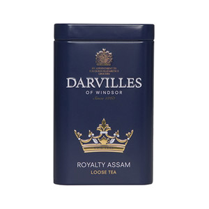 Darvilles Of Windsor Royalty Assam Leaf Tea Caddy