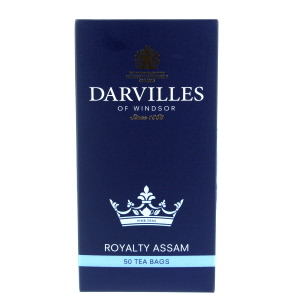 Darvilles Of Windsor Royalty Assam Tea 50 Teabags