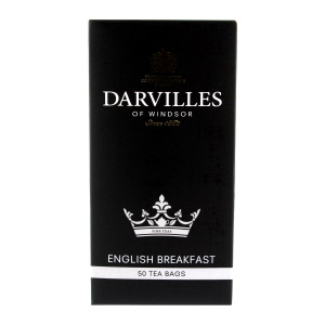 Darvilles Of Windsor English Breakfast Tea 50 Teabags