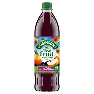 Robinsons No Added Sugar Apple & Blackcurrant Squash