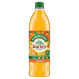 Robinsons Fruit & Barley Orange Squash