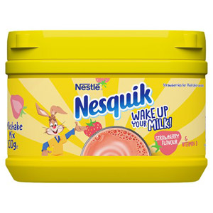Nesquik Strawberry Milkshake Mix