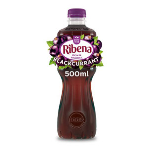 Ribena Blackcurrant Bottle