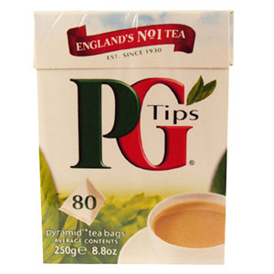 PG Tips Pyramid Bags 80s