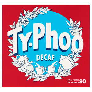 Typhoo Tea Bags Decaffeinated 80