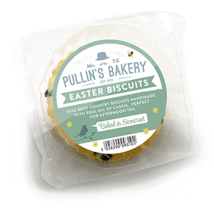 Pullins Easter Biscuits 5 Pack
