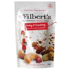 Mr Filbert's Turkey & Cranberry Mixed Nuts