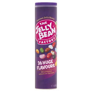 The Jelly Bean Factory Gourmet Mix Tube