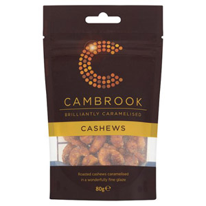 Cambrook Caramelised Cashews