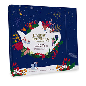 English Tea Shop Book Style Christmas Night Tea Advent Calendar