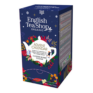 English Tea Shop Tea Advent Calendar 25 Pyramid Teabags