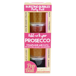 Pop A Ball Bursting Bubbles Party Pack - Prosecco