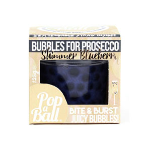 Pop A Ball Shimmer Bubbles - Blueberry