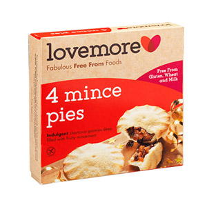 Lovemore 4 Mince Pies