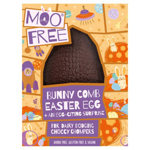 Moo Free Bunny Comb Easter Egg