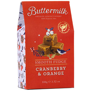 Buttermilk Cranberry & Orange Smooth Fudge