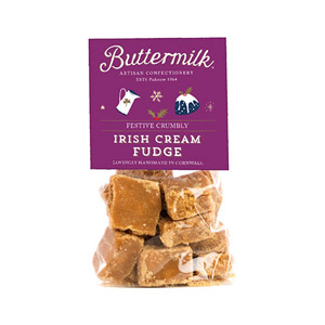 Buttermilk Irish Cream Crumble Fudge
