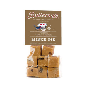 Buttermilk Mince Pie Crumbly Fudge