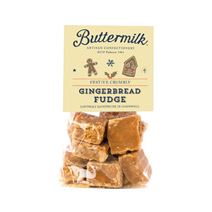 Buttermilk Gingerbread Crumbly Fudge