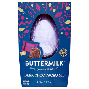 Buttermilk Dark Chocolate Cacao Duo Easter Egg