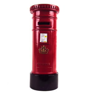 Post Box Die Cast Money Box