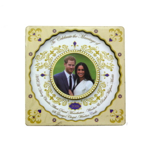 Royal Wedding 2018 Wooden Magnet