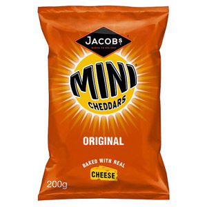 Jacobs Mini Cheddars Original Large Bag
