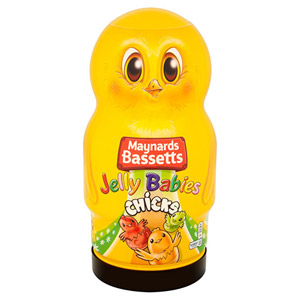 Bassetts Jelly Baby Chicks Jar