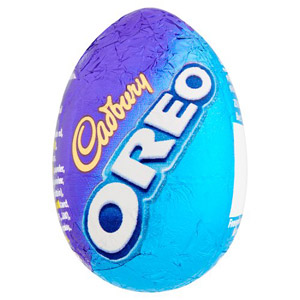 Cadbury Oreo Filled Egg